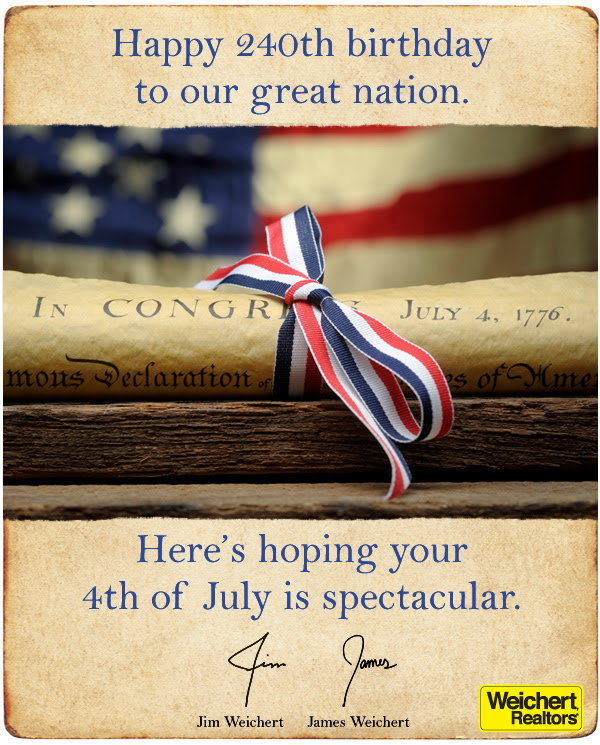 Happy Independence Day, Basking Ridge!