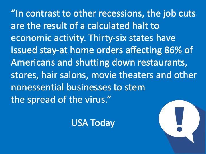 Unemployment - a calculated halt